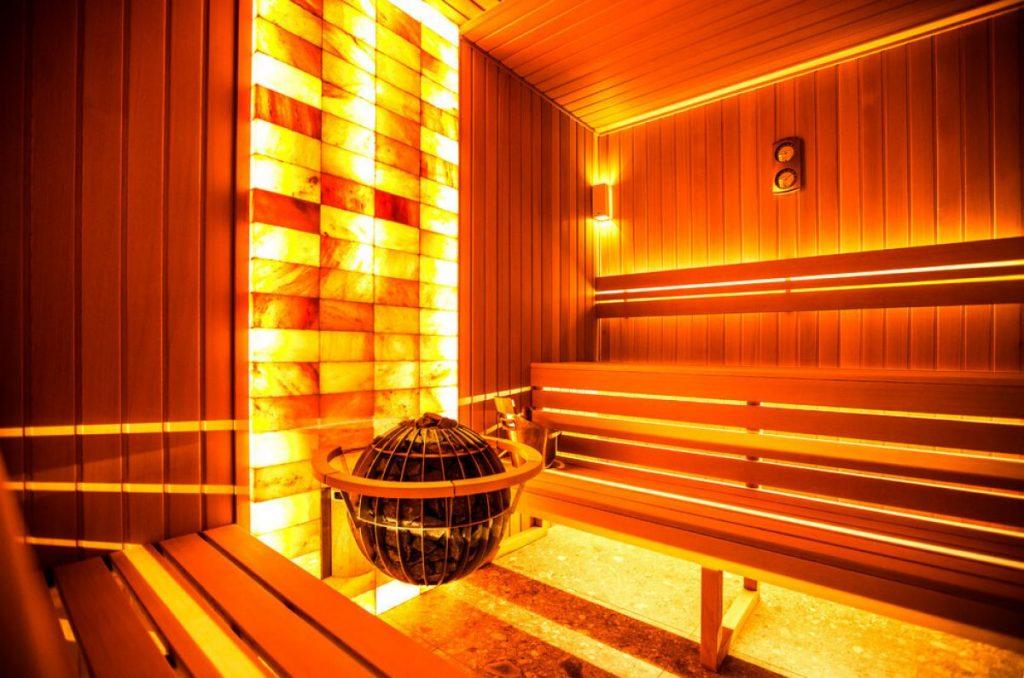 Освещение оригинальное для бани