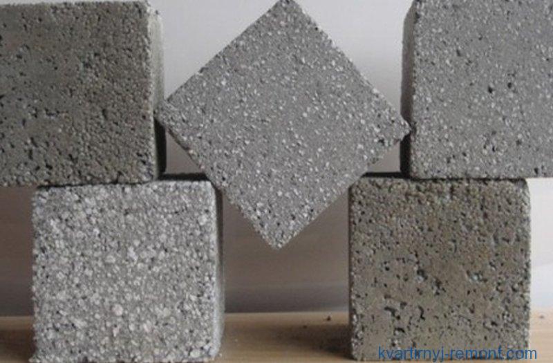Бетон - искусственный камень, пришедший на смену природному камню